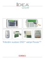 Tribridni sustavi DSC® serije PowerTM