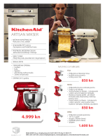 letak KitchenAid Artisan