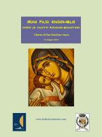 IRINI PASI ENSEMBLE - Hellenic Semester 2014