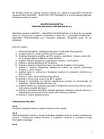 Poziv na Skupštinu Društva - 2011. godina