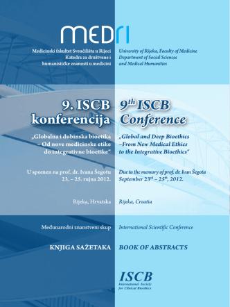 9. ISCB konferencija 9th ISCB Conference