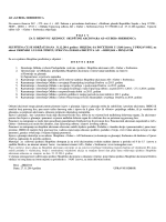 AD «GUBER» SREBRENICA Na osnovu članova 267. ; 272. stav 4. i