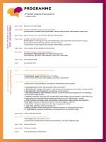 neuri 2013, programme