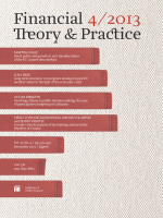 IV / 2013 - Financial Theory & Practice