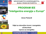 "PROGRAM IEE ""Inteligentna energija u Europi"""