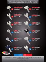 Pregled sigurnosnih cilindara Titan i DOM