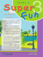 The Super Fun Revision Book is an optional supplementary book