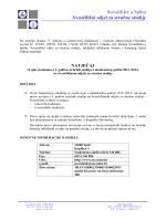 Sveučilište u Splitu Sveučilišni odjel za stručne studije