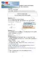 Acids Sample Test