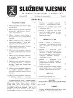 Službeni vjesnik - Grad Virovitica