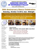 30th Anniversary Dance Celebration