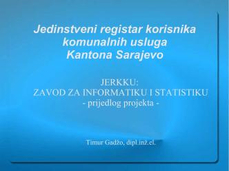 34 prezentacija JERKKU.pdf - Zavod za informatiku i statistiku KS