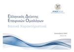 Εταιρικών Ομολόγων Ελληνικός Δείκτης Βασικά