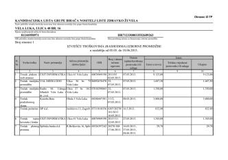 (Obrasci za razdoblje 05.05.-18.06.2013.- Kandidacijska