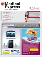 Τεύχος 219 - MedicalExpress | Μηνιαίο Ιατρικό Περιοδικό