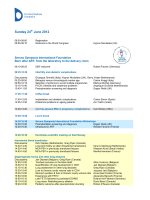 programme - The Fetal Medicine Foundation