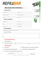REKLAMACIJSKI ZAPISNIK br. - Refill-bar