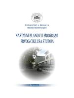 Godina: III - Mašinski fakultet