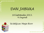 Dan jabuka - 4. razred MŠ Zdenci