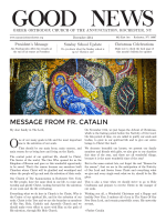 message from fr. catalin - Annunciation Greek Orthodox Church