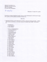 Odluka za ležaljke i suncobrane 2014 - Odobrenje - PDF