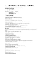 Motokultivatori s.e.p 113-dizel, 125-dizel, 132-dizel, 45