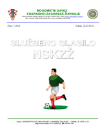 službeno glasilo nskzž - Nogometni savez Krapinsko