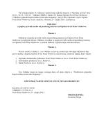 Odluka o popisu pravnih osoba od posebnog interesa za Općinu