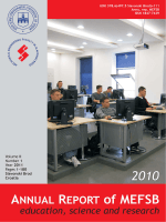 Anual report MEFSB - education, science and research 2010
