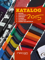 CJENIK proizvodnog kataloga 2014/15