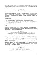 Poziv na Skupštinu povlaštenih dioničara - Končar
