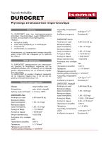 DUROCRET