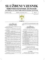 15/11 - Šibensko-kninska županija