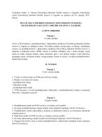 Pravilnik o preddiplomskim i diplomskim studijima