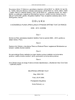lokalni plan upravljanja otpadom opstine Tivat