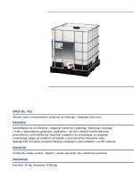 SPECIJAL F2S Tekuće kiselo koncentrirano sredstvo za