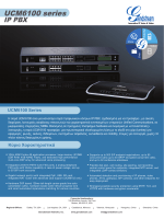 UCM6100 series - Grandstream Networks, Inc