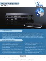 UCM6100 series - Grandstream Networks, Inc