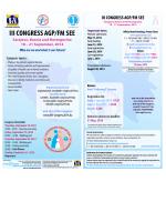 iii congress agp/fm see - Udruženje ljekara / liječnika porodične