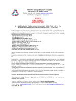 Raspis za novi tecaj proljece 2014