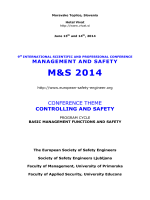 management and safety m&s 2014