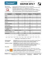 tehnički list OKIPOR EPS F
