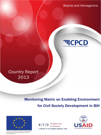 Country Report 2013