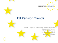 EU Pension Trends