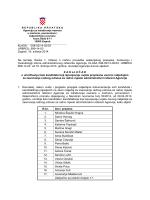 KLASA: 008-02/14-02/03 URBROJ - Agencija za istraživanje