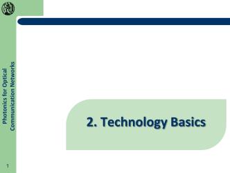 2ο Μάθημα - Basic principles