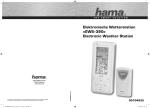 Elektronische Wetterstation »EWS-390« Electronic Weather Station