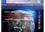 Prijedor Water and Wastewater Project Projekat