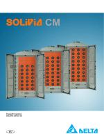Εγχειρίδιο χρήσης SOLIVIA CM EU G3