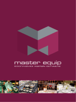 κατάλογος προϊόντων - master equip | εξοπλισμοί χώρων εστίασης